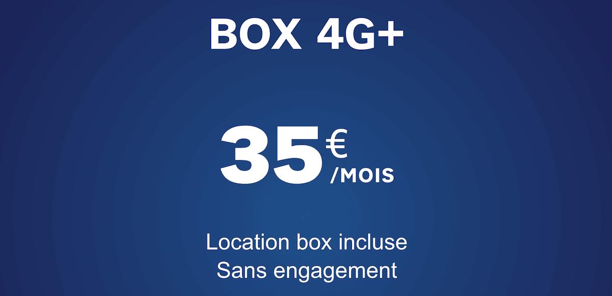 Qu'en est-il de la box 4G de SFR ?