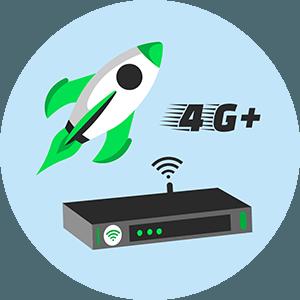 Les box 4G.