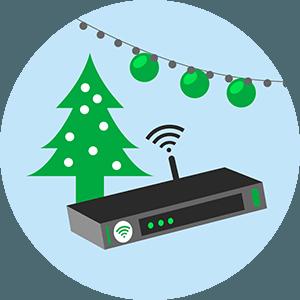 Promo box internet pour Noël.