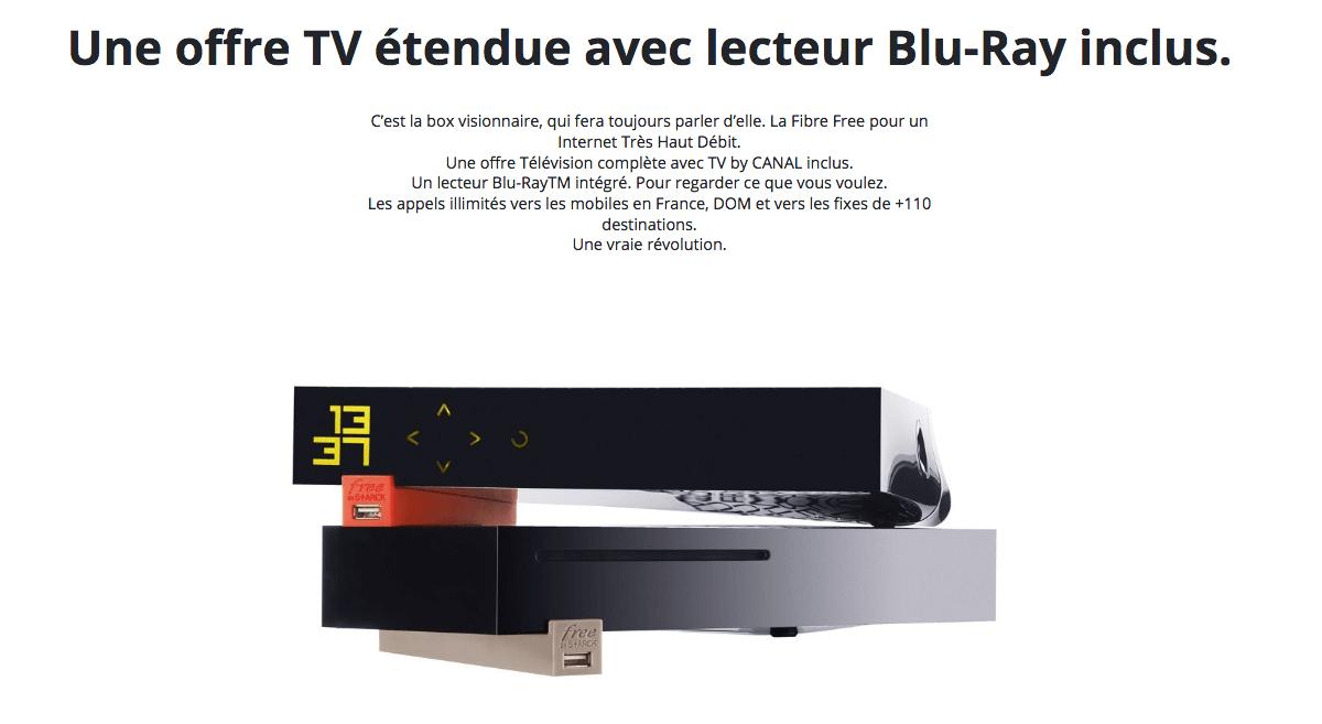 La Freebox Révolution à partir de 19,,99€/mois