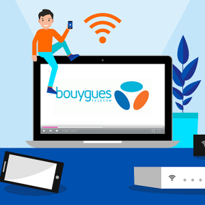 Les box internet de Bouygues Telecom.