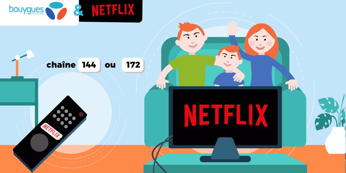 Bbox et Netflix