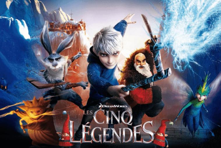 Cinq Légendes, un film à regarder pour Noël 2019 sur Netflix