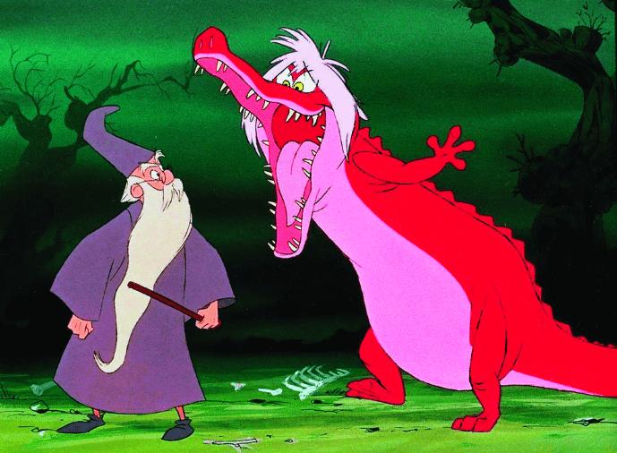 Merlin l'Enchanteur, un dessin animé de Noël sur Netflix