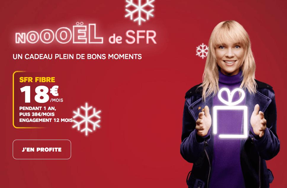 la promotion box internet de SFR