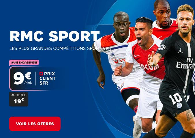 RMC Sport chez SFR.