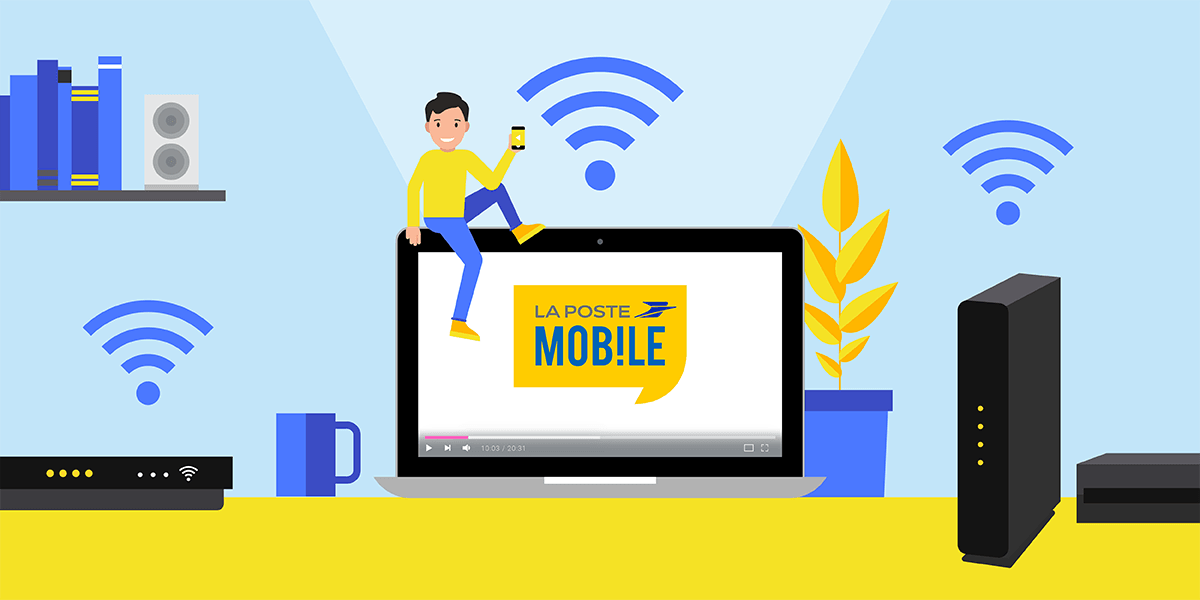 Offres internet La Poste Mobile.