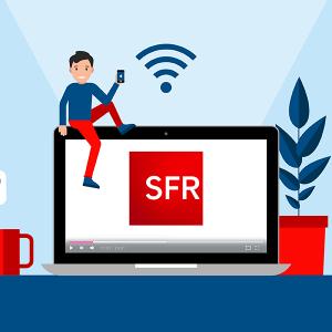 Offres internet proposées par SFR.