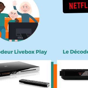 Netflix avec les Livebox Orange