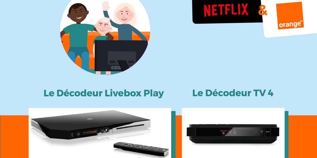 Netflix avec les Livebox Orange