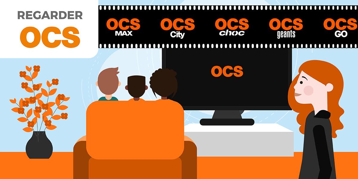 Profiter de OCS.