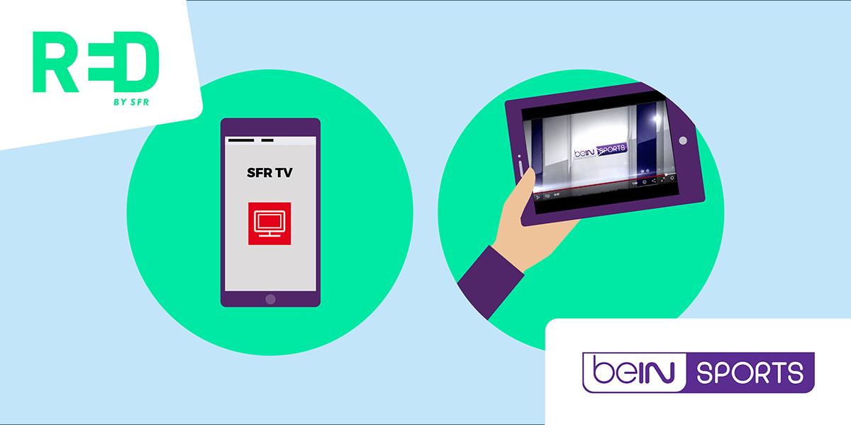 Appli TV SFR TV.
