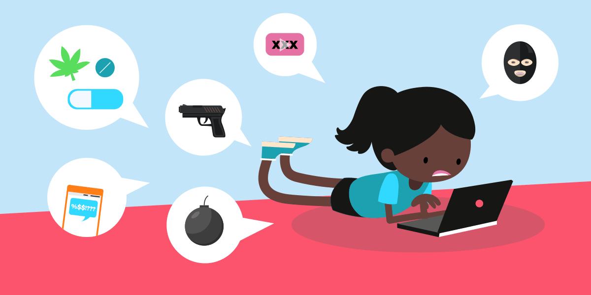 Les dangers sur internet