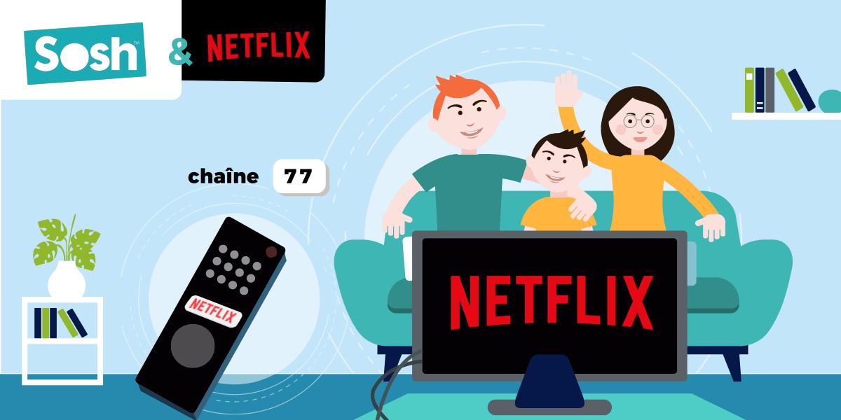 Netflix Livebox Sosh