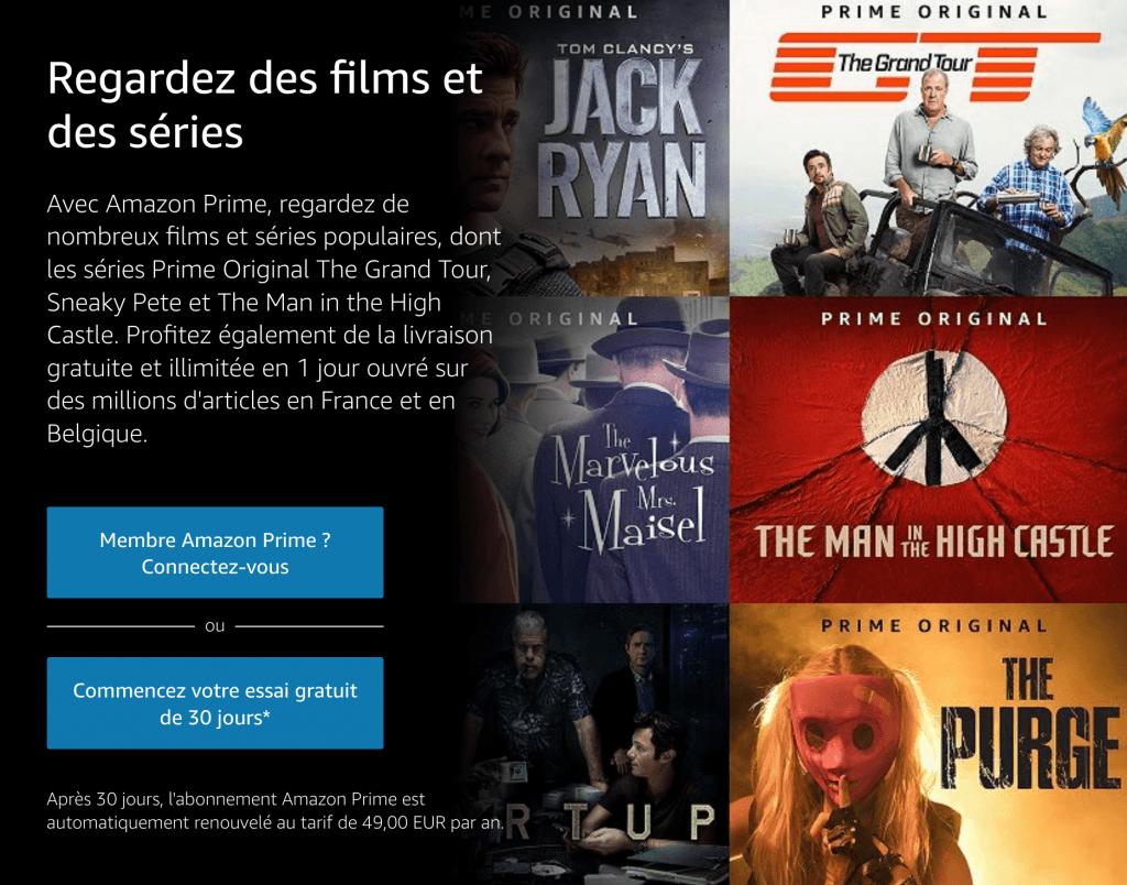 Amazon Prime video HBO