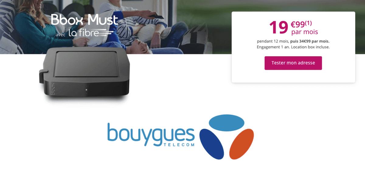 La Bbox Must de Bouygues Telecom est en promotion