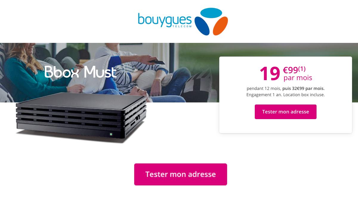 Bouygues met en promotion son offre box avec forfait.