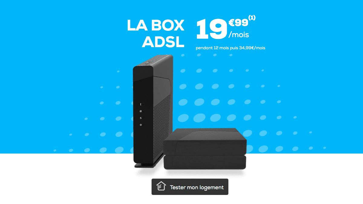 La Poste Mobile fait une promotion sur sa Box ADSL