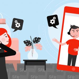 SFR : le service client.