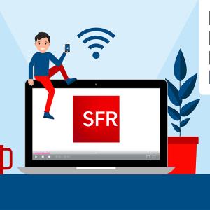Les box internet proposées par SFR.