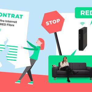 Tout savoir rompre contrat RED by SFR.
