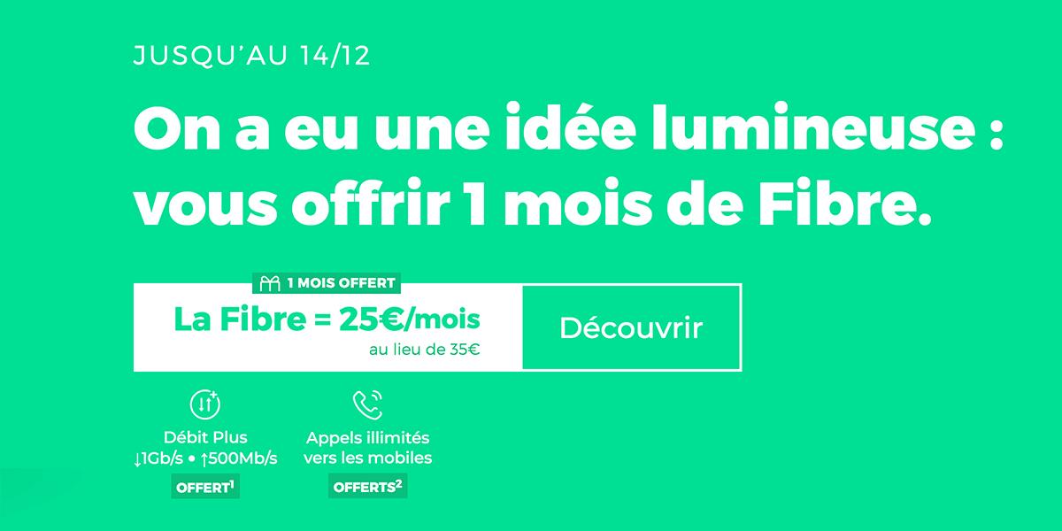 Promo noël RED by SFR.