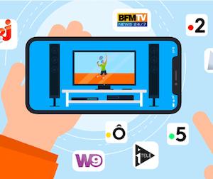 Comment regarder la télévision directement sur son smartphone