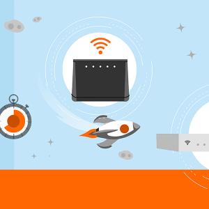 Testez la vitesse de votre connexion Internet.