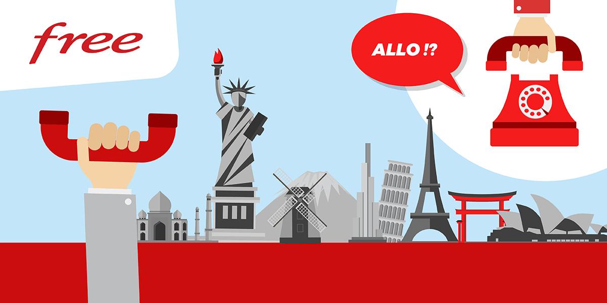 comment telephoner au portugal avec free