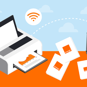 Box internet Orange : imprimer.