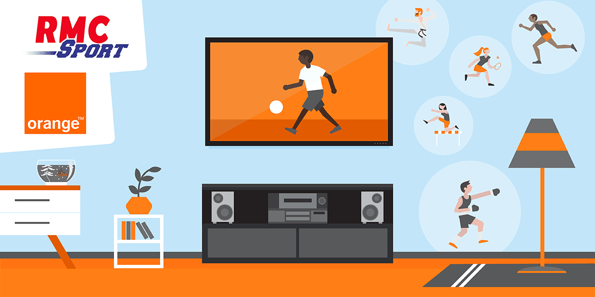 Livebox : profiter de RMC Sport.