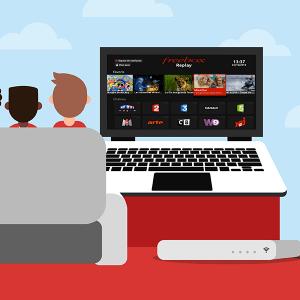 Profiter de Freebox TV sur son ordinateur.