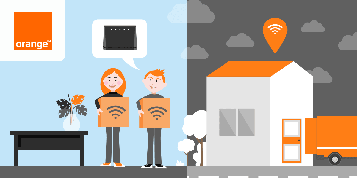 Déménager sa 4G Home Orange