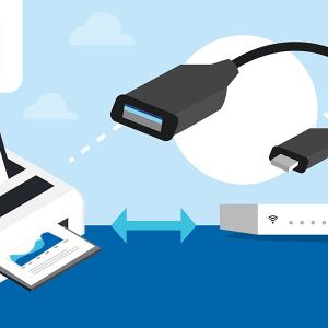 Connecter imprimante à box internet en USB.