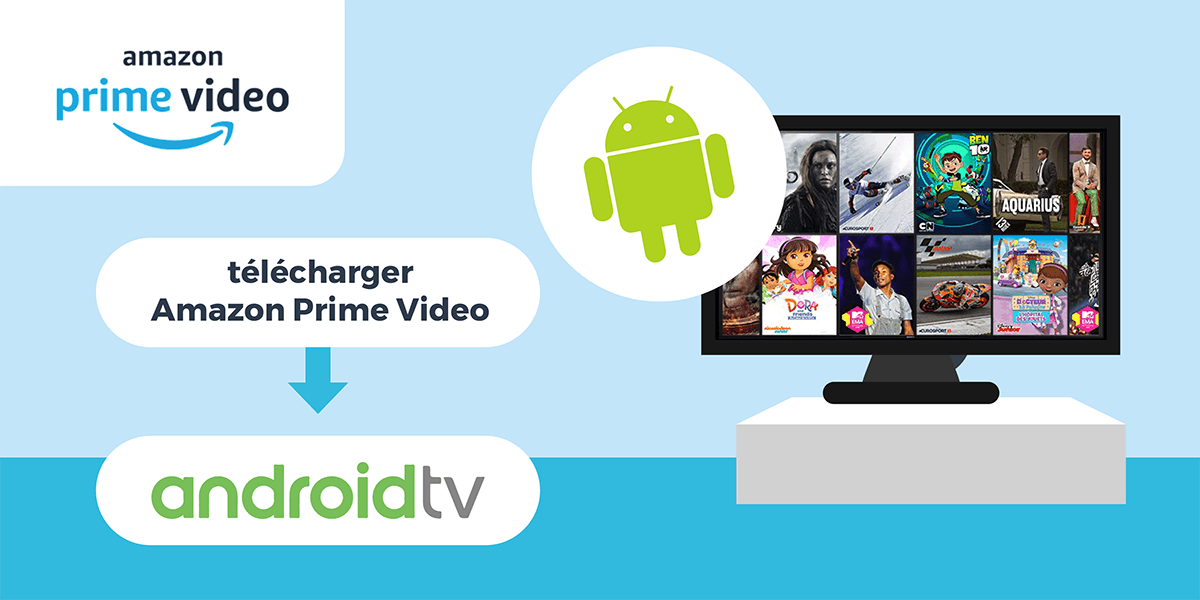 Profiter d'Amazon Prime Vidéo avec Android TV.