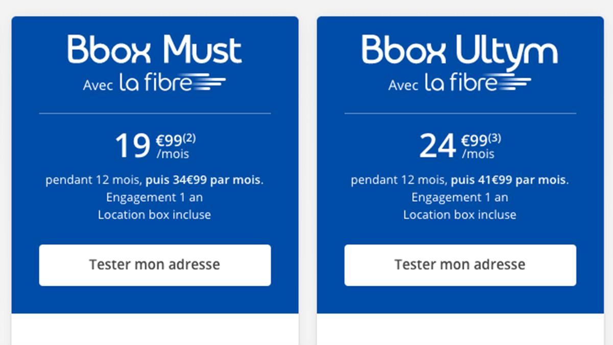 La Bbox accueil Amazon.