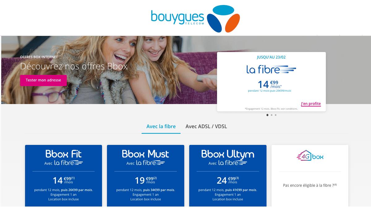 Bouygues Telecom met en promotion sa Bbox Must.