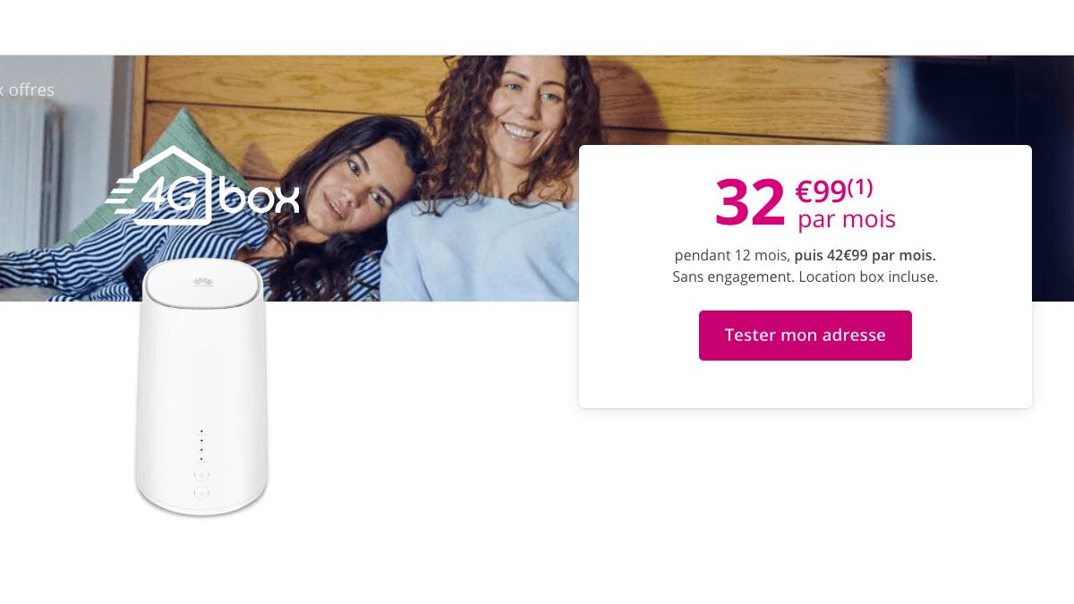 Les box 4G sont destinés à ceux disposant d'une mauvaise connexion ADSL.