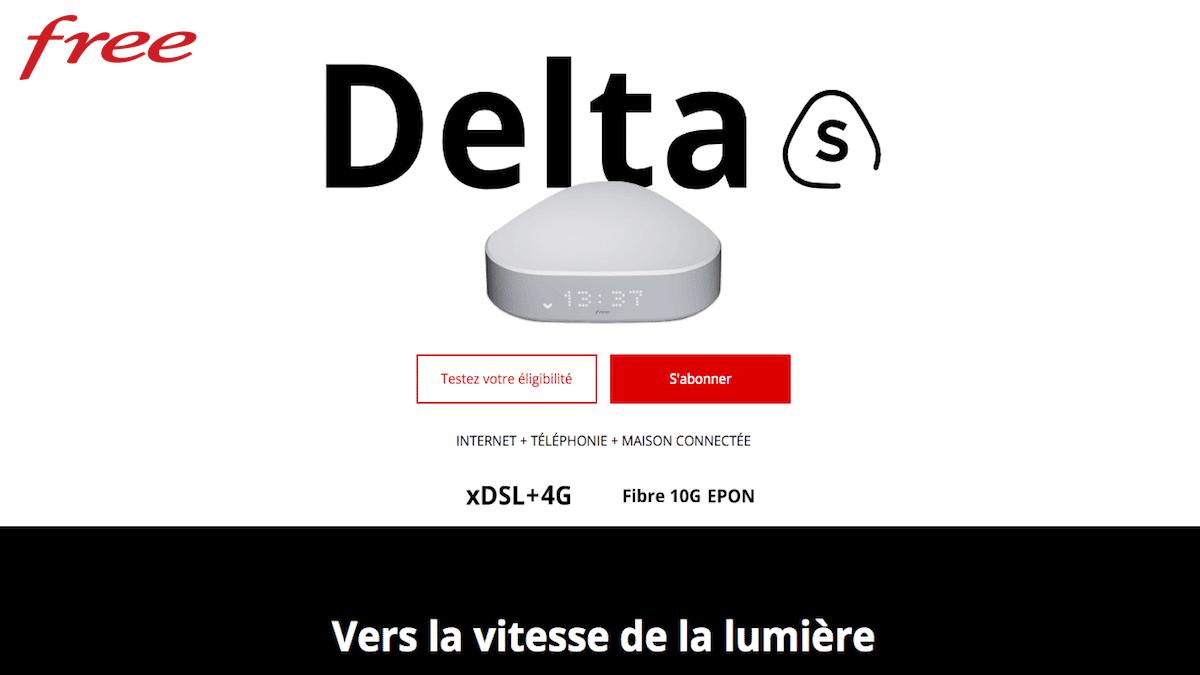 La Freebox Delta S est en promo