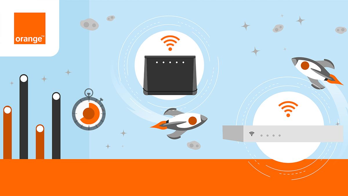 Test de débit Orange : les débits ADSL ou Fibre de votre ...