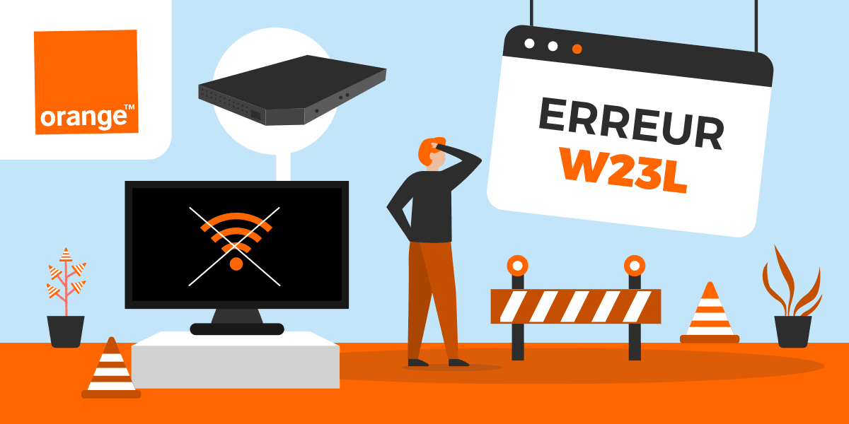 Code erreur Orange W23L