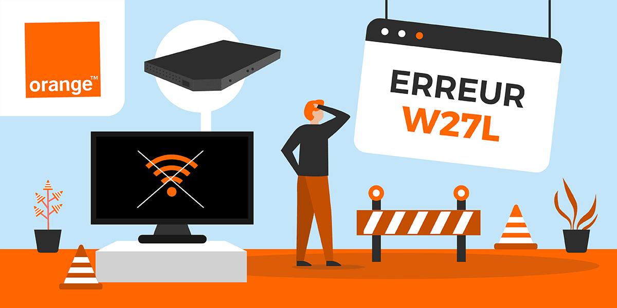 erreur W27L box TV : que faire ?