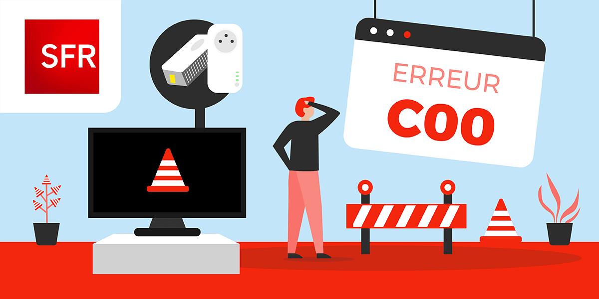 Erreur C00 SFR : que faire ?