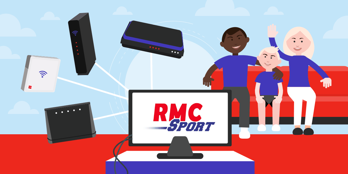 Box internet RMC Sport