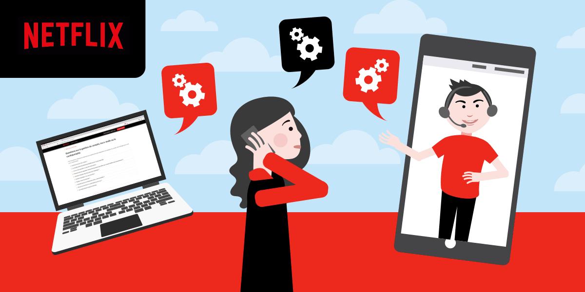Comment contacter le service client Netflix ?