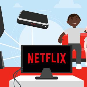 Box internet Netflix.