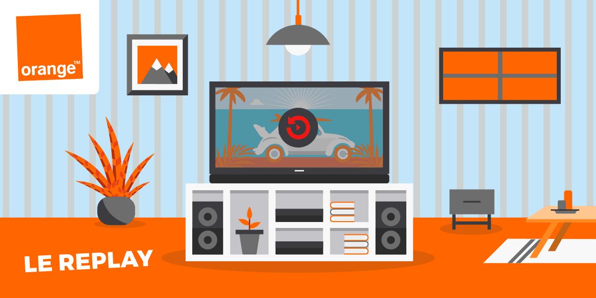 Le fonctionnement du replay des Livebox d'Orange