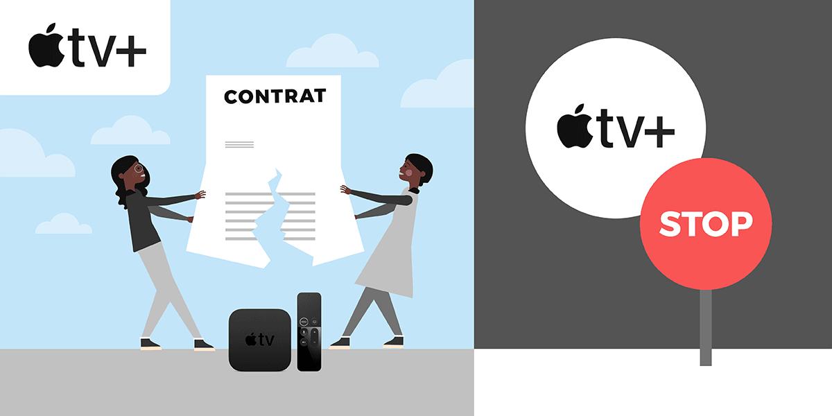 Apple TV comment résilier ?