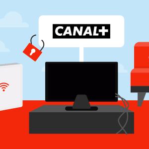 Comment accéder à CANAL+ depuis un décodeur TV SFR ?