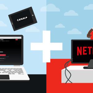 L'offre CANAL + Netflix dans le pack cinés séries